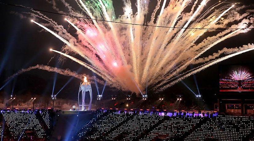 Церемония открытия Паралимпийских игр состоялась в Пхенчхане