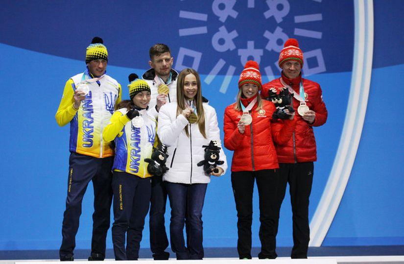 Медали белорусских паралимпийцев на Паралимпиаде в Пхенчхане