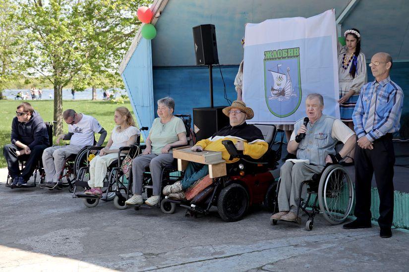 День обретения гимна колясочников города Жлобина