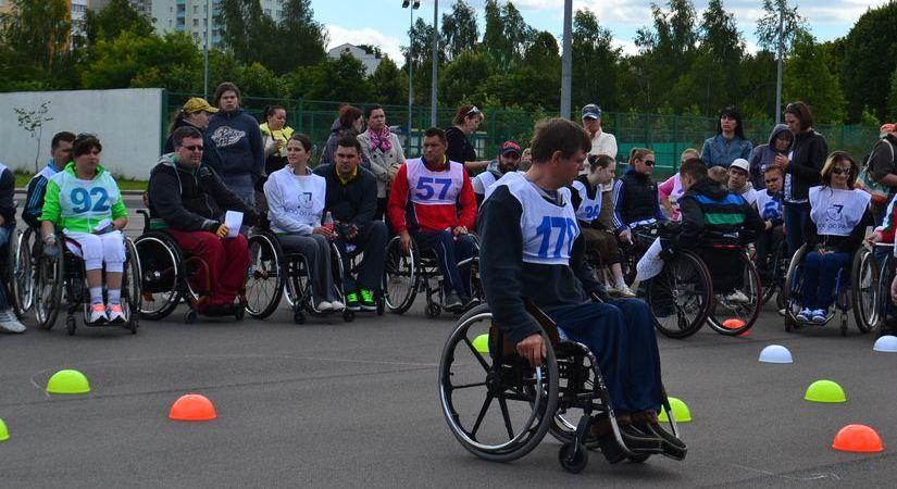 Юбилейная спартакиада инвалидов-колясочников