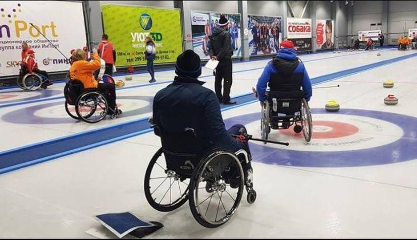 Набор в спортивную секцию по паралимпийской игре в Кёрлинг