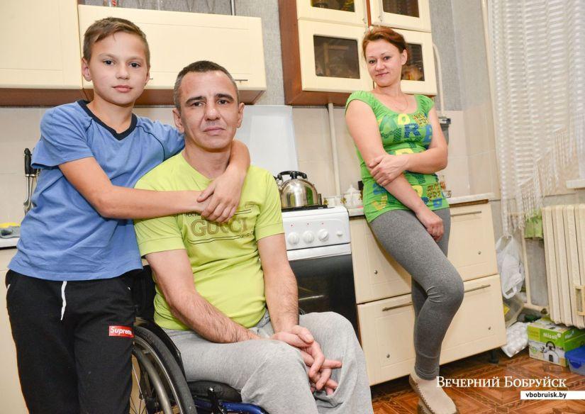 «Я понял, как сильно хочу жить». Бывший строитель оказался в инвалидном кресле