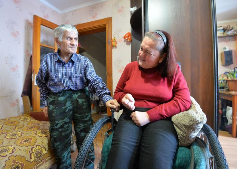 Татьяна Иосифовна ни разу в жизни не пожалела, что вышла замуж за Николая Пронько