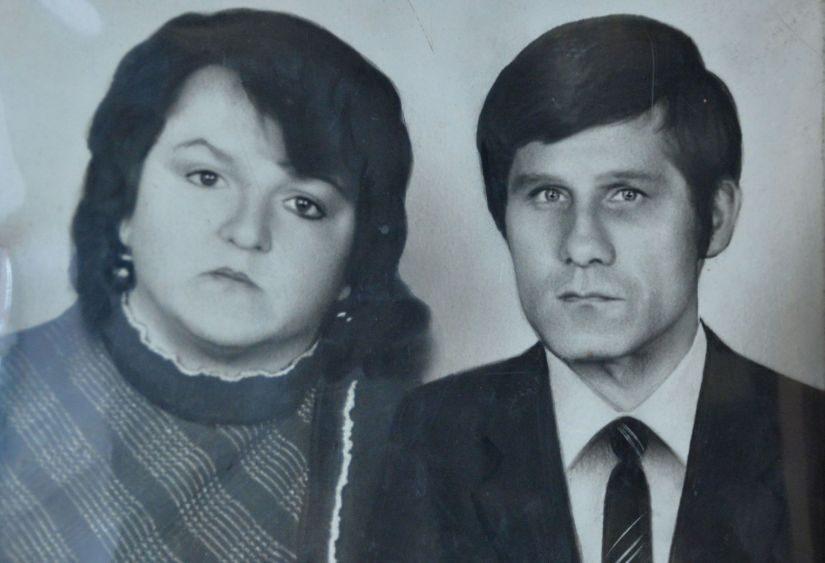 В молодости Татьяна и Николай Пронько успевали и дочь растить, и за хозяйством смотреть