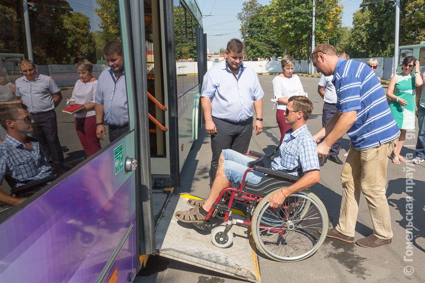 Областное объединение «Инвалиды-спинальники» организовало тренинг в гомельском КУП «Горэлектротранспорт»