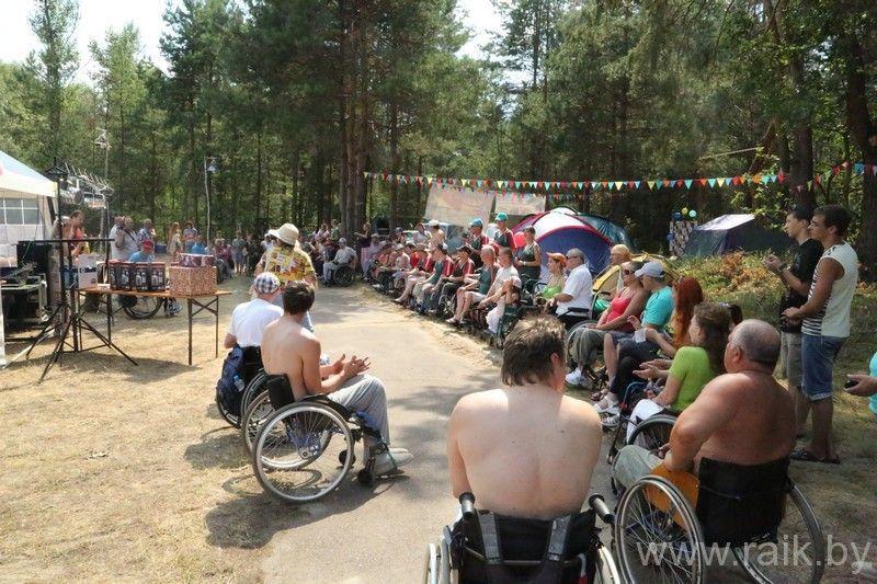 Мозырская МООО «РАИК» приглашает на 11-й Республиканский туристический слёт инвалидов-колясочников «Полесские зори».