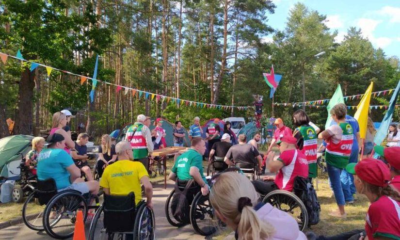 Слет инвалидов-колясочников «Полесские зори–2020». Отзывы участников