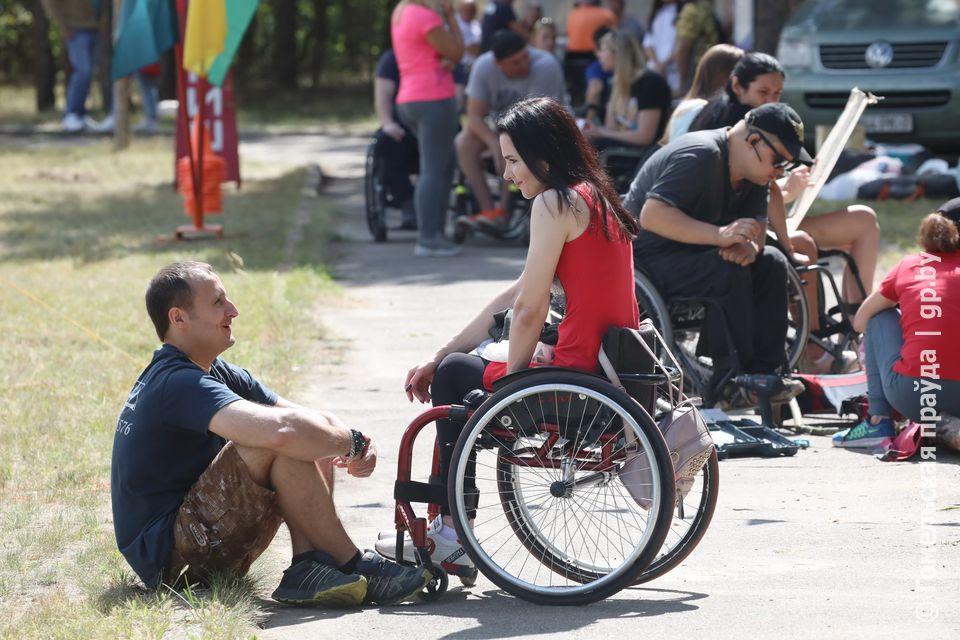 В Мозырском районе прошел 11-й Республиканский туристический слет инвалидов-колясочников «Полесские зори»
