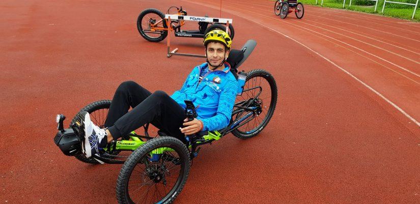 Денис Василевич, волонтер-инструктор по физической подготовке в Республиканской ассоциации инвалидов-колясочников