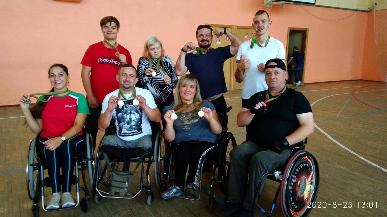 Чемпионат Беларуси по пауэрлифтингу и армрестлингу среди инвалидов состоялся в столице