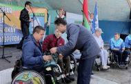 День обретения флага команды спортсменов инвалидов-колясочников г.Жлобина