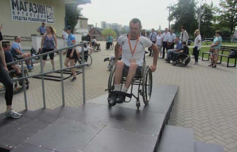 В Минск приехали инвалиды-колясочники со всей страны на 10-дневный слет активной реабилитации